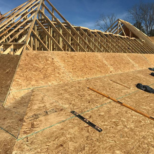 custom home construction thorn hill, tn